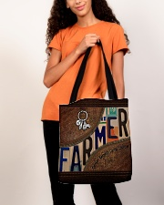 Farmer Respect Caring Courage All-over Tote aos-all-over-tote-lifestyle-front-06