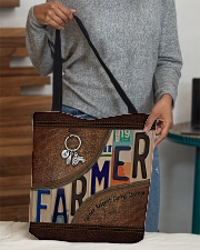 Farmer Respect Caring Courage All-over Tote aos-all-over-tote-lifestyle-front-10
