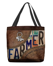 Farmer Respect Caring Courage All-over Tote back