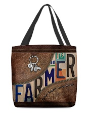 Farmer Respect Caring Courage All-over Tote front