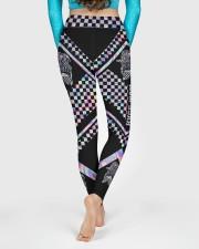 Race Mom Mother's Day High Waist Leggings aos-high-waist-leggings-lifestyle-06