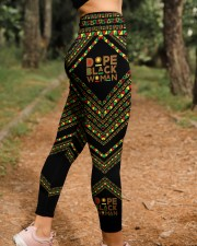 Dope Black Woman High Waist Leggings aos-high-waist-leggings-lifestyle-21