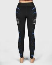 Truck Blue Pattern Legging High Waist Leggings aos-high-waist-leggings-lifestyle-02
