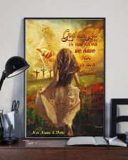 God Has You In His Arms Personalized 11x17 Poster lifestyle-poster-2