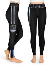 Police Wife High Waist Leggings front