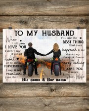 To My Husband 17x11 Poster aos-poster-landscape-17x11-lifestyle-14