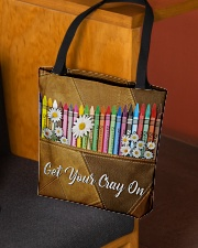 Get Your Cray On Leather Pattern Print  All-over Tote aos-all-over-tote-lifestyle-front-02