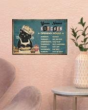 Kitchen Opening Hours 17x11 Poster poster-landscape-17x11-lifestyle-22