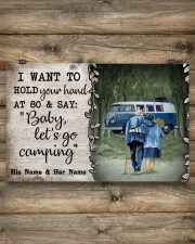 Personalized Camping Van Baby Let'S Go 17x11 Poster aos-poster-landscape-17x11-lifestyle-14