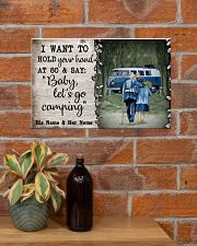 Personalized Camping Van Baby Let'S Go 17x11 Poster poster-landscape-17x11-lifestyle-23