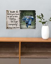 Personalized Camping Van Baby Let'S Go 17x11 Poster poster-landscape-17x11-lifestyle-24