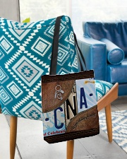 Cna Respect Caring Courage All-over Tote aos-all-over-tote-lifestyle-front-01
