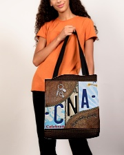 Cna Respect Caring Courage All-over Tote aos-all-over-tote-lifestyle-front-06