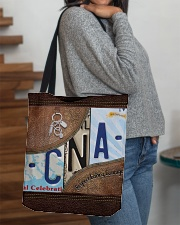 Cna Respect Caring Courage All-over Tote aos-all-over-tote-lifestyle-front-09