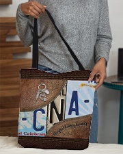 Cna Respect Caring Courage All-over Tote aos-all-over-tote-lifestyle-front-10
