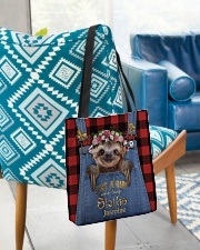 Personalized Sloth Just A Girl All-over Tote aos-all-over-tote-lifestyle-front-01