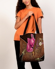 Fighter Leather Pattern Print All-over Tote aos-all-over-tote-lifestyle-front-06