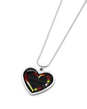 Indigenous Metallic Heart Metallic Heart Necklace aos-necklace-heart-metallic-lifestyle-04