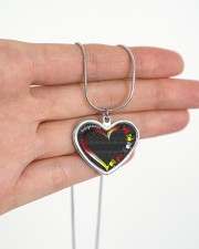 Indigenous Metallic Heart Metallic Heart Necklace aos-necklace-heart-metallic-lifestyle-07