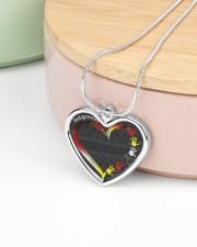 Indigenous Metallic Heart Metallic Heart Necklace aos-necklace-heart-metallic-lifestyle-09