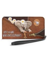 Elephant Mom Daisy  Women's Clutch Purse Horizontal front