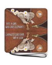 Elephant Mom Daisy  Women's Clutch Purse Horizontal full