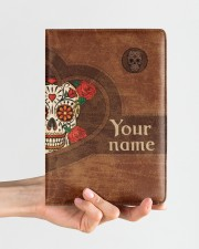 Skull  Medium - Leather Notebook aos-medium-leather-notebook-lifestyle-front-01