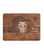 Skull  Medium - Leather Notebook full