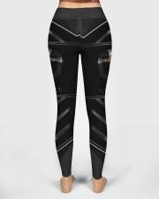 Jesus Forgiven Pattern High Waist Leggings aos-high-waist-leggings-lifestyle-02