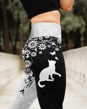 Black N White High Waist Leggings aos-high-waist-leggings-lifestyle-11