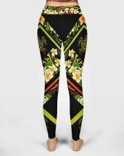 Hi Hawaii Leather Pattern Print High Waist Leggings aos-high-waist-leggings-lifestyle-02