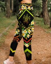 Hi Hawaii Leather Pattern Print High Waist Leggings aos-high-waist-leggings-lifestyle-21