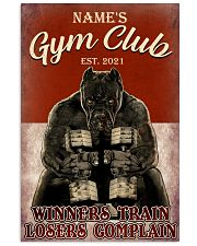 Gym Club 11x17 Poster front