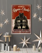 Gym Club 11x17 Poster lifestyle-holiday-poster-1