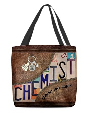 Chemist Love All-over Tote back