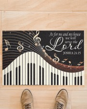 """Piano As For Me And My House Doormat 22.5"""" x 15""""  aos-doormat-22-5x15-lifestyle-front-02"""