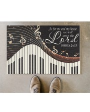 """Piano As For Me And My House Doormat 22.5"""" x 15""""  aos-doormat-22-5x15-lifestyle-front-04"""