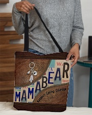 Mama bear respect caring courage All-over Tote aos-all-over-tote-lifestyle-front-10