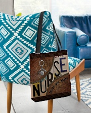 Nurse love inspire  All-over Tote aos-all-over-tote-lifestyle-front-01