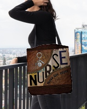 Nurse love inspire  All-over Tote aos-all-over-tote-lifestyle-front-05