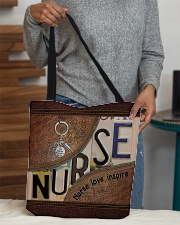 Nurse love inspire  All-over Tote aos-all-over-tote-lifestyle-front-10