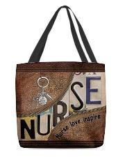 Nurse love inspire  All-over Tote back