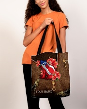 Puerto Rico Leather Pattern Print All-over Tote aos-all-over-tote-lifestyle-front-06