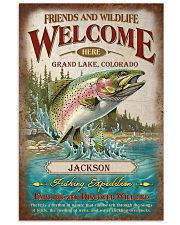 Personalized Fishing Expedition Welcome Here 11x17 Poster front