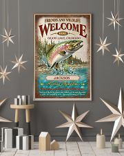 Personalized Fishing Expedition Welcome Here 11x17 Poster lifestyle-holiday-poster-1