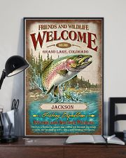 Personalized Fishing Expedition Welcome Here 11x17 Poster lifestyle-poster-2