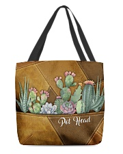 Pot Head Leather Pattern Print All-over Tote front