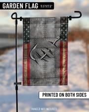 "Fishing America Flag  11.5""x17.5"" Garden Flag aos-garden-flag-11-5-x-17-5-lifestyle-front-14"