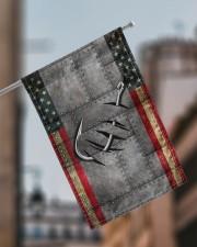 "Fishing America Flag  11.5""x17.5"" Garden Flag aos-garden-flag-11-5-x-17-5-lifestyle-front-17"