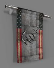 "Fishing America Flag  11.5""x17.5"" Garden Flag aos-garden-flag-11-5-x-17-5-lifestyle-front-18"